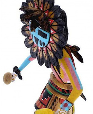 Native American Indian Hopi Kachina Doll - Kachina Dolls - Shalako ...